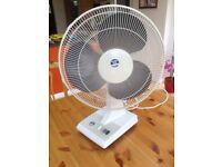 Blue Ice desk fan