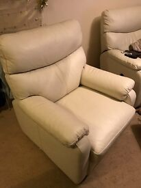 Super comfy leather armchair
