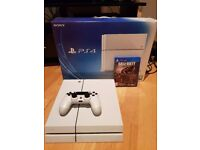 Playstation 4 PS4 500GB Glacier White Excellent Condition Boxed