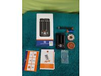 Mighty Herb Vaporiser 20% extra battery by Storz & Bickel plus accessories