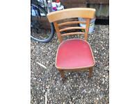 6 Vintage Kitchen Chairs.
