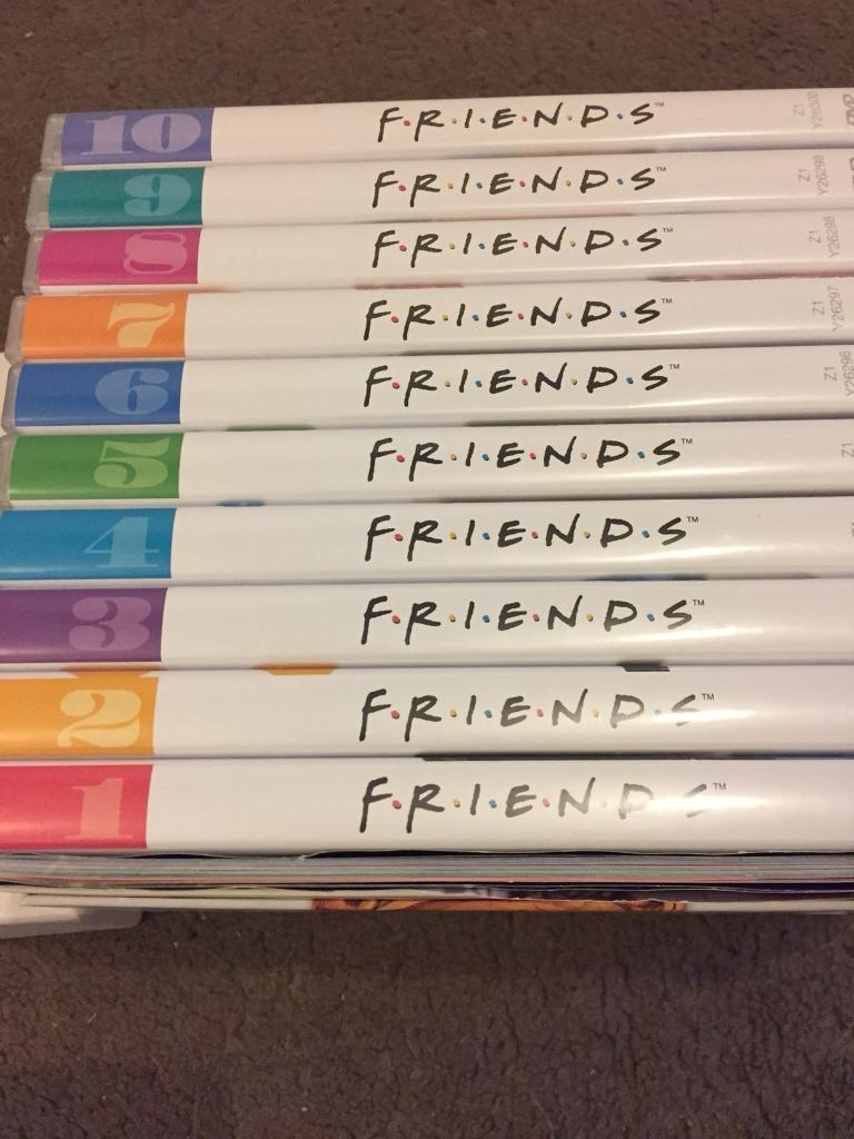 Friends Series 1-10. Complete DVD Box Set | in Bellshill, North ...