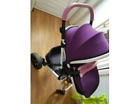 Tutti Bambini Riviera 3 in 1 travel system pushchair - excellent condition
