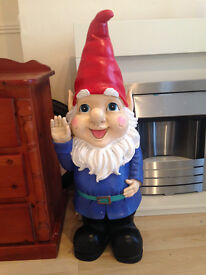 Beautiful Garden Gnome Ornament - 3 Foot Tall