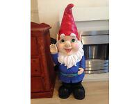 Beautiful Garden Gnome Ornament - 3 Foot Tall