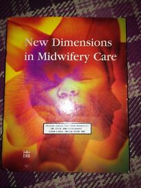 New Dimensions in Midwifery Care pack, ideal student midwife!
