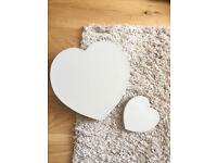 Next Home Love Heart Place Mats and Coasters