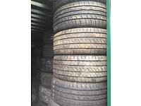 Quality used car, van and 4x4 tyres for sale