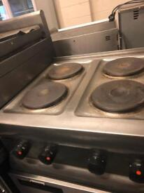 Commercial electric hob lincat catering restaurant hotels pubs