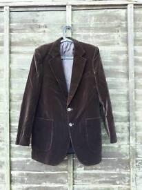 St Michael at M&S vintage velvet feel jacket size 39/40