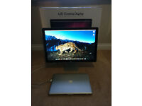 """APPLE 24"""" INCH LED CINEMA DISPLAY WITH INTEGRATED SPEAKERS & CAMERA"""