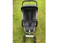 Quinny Buzz pushchair with carrycot and accessories