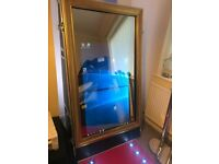 Magic Mirror Photo Booth Business Everything You Need Printer Camera Lighting, LED Carpet & More