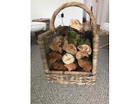 Lovely log basket