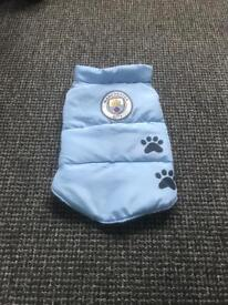 New without tags Man City small dog coat