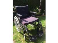 Large wheelchair. Invacare action 4 ng.