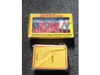 Donkey toy road sign box set & collectors storage tin