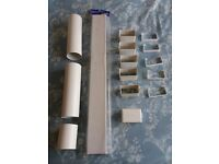 Low Profile Ducting System 110 x 54 mm 15 pieces