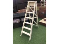 Step ladder, vintage/shabby chic/garden /wedding