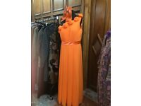 Light in the Box orange designer dress £85