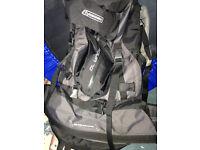 EUROHIKE Revolution Aqua 70 backpack rucksack ideal for treks camping DoE