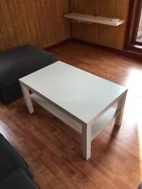 Ikea Lack White Coffee Table 90cm x 55cm