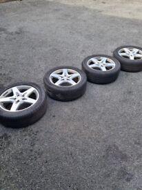 Van/camper Alloy wheels, amg, mercedes vito, sprinter