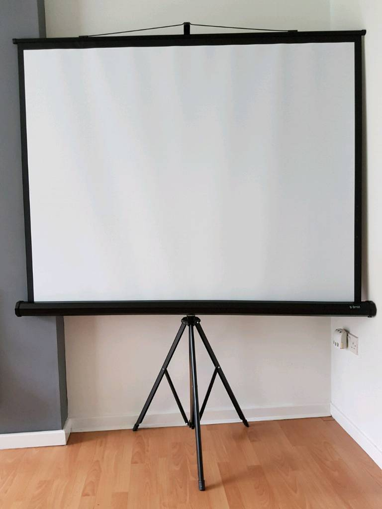 Screen projector and tripod
