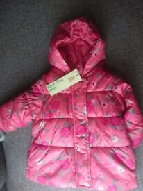 Baby girl winter jacket 3-6month
