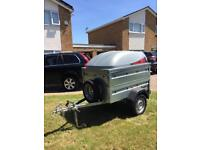 Benderup 1150 Trailer with ABS lid