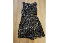 Miss selfridge playsuit size 8