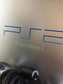 Ps2 set with over 40 games