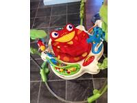 Jumperoo rainforest fisher price excellent condition collection Thornhill.