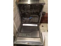 Chrome dishwasher