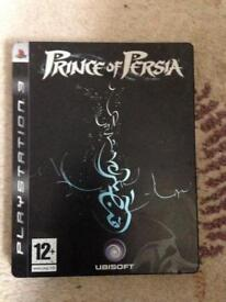 PS3 Prince of Persia Steel Tin Limited game