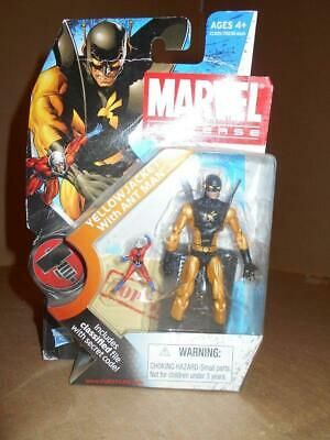 2 Yellow Jacket Action Figure - MARVEL UNIVERSE YELLOW JACKET ANT MAN SERIES 2 # 32 3.75