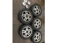 2000 Ford Focus Alloys Rims Wheels