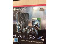 Xbox 360 halo special edition +Kinect and 11 games