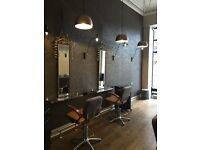 Recently refurbished Bruntsfield hairdressing salon for lease.