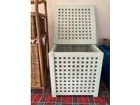 Wooden Lattice Chests x 2