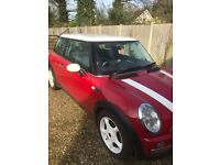 MINI COOPER 1.6 CHILLI PACK RED