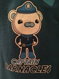 Octonauts Captain Barnacles Dressing Up Costume