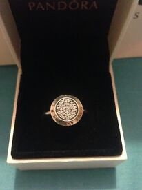 Pandora ring still in box worn a couple of times