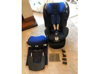 Cybex Sirona Platinum 360 Rear & Forward Facing Car Seat – Group 0+/1, 0-18 kg - Isofix - Blue