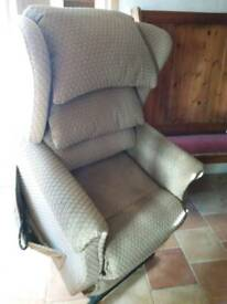 Sherbourne lift and rise dual motor recliner