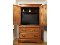 TV Cabinet/Armoire, excellent condition!