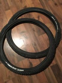 "Halo choir master 29"" tyres new"