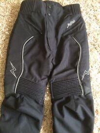 Buffalo Unisex Textile Motorcycle Trousers, BRAND NEW & UNWORN !
