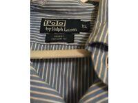 Ralph Lauren Xl pinstriped shirt