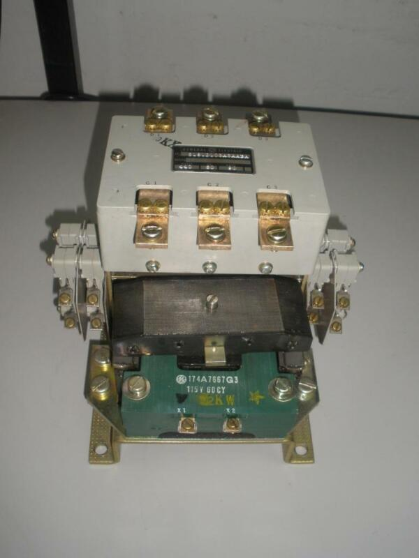GE IC 5181D103A3AABA Contactor  115V Coil 90A 440V